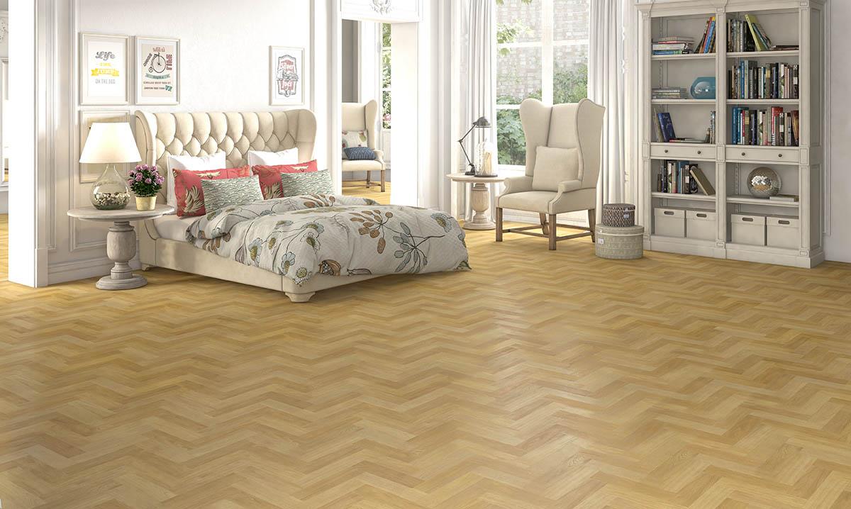 Natural Oak Herringbone The Floor Gallery